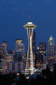 apartments in seattle: space needle