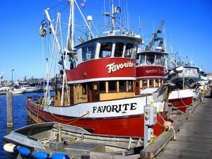 apts seattle: fishing boat