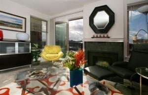 Interior of Metropolitan Park apartments