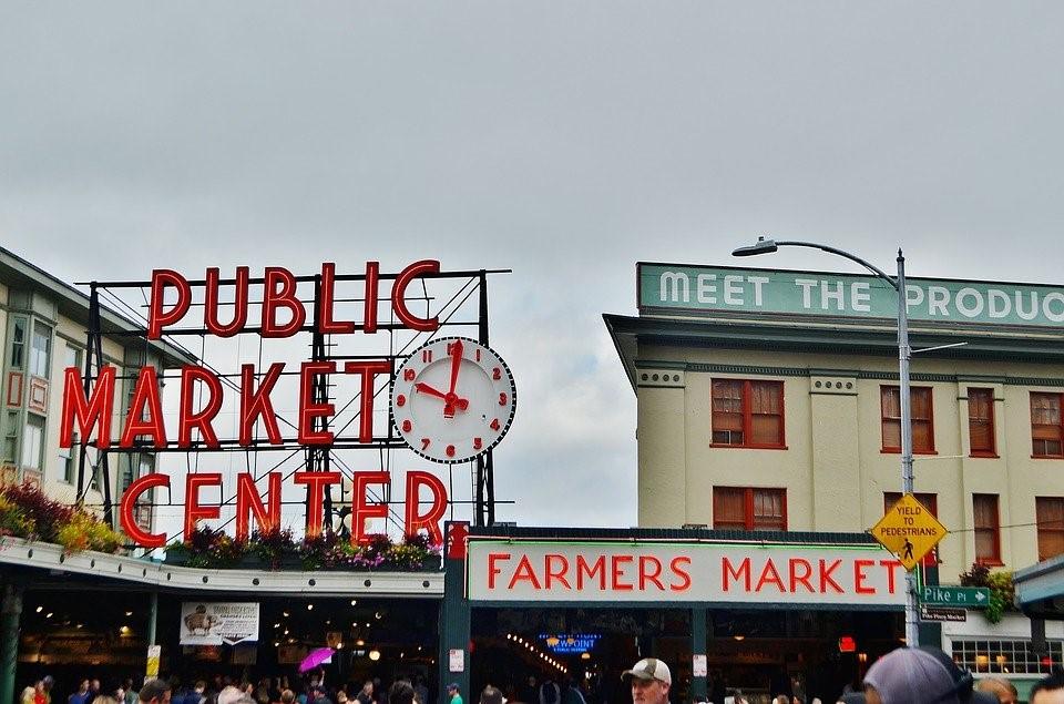 Seattle, Pike Place, Tourism, City, Usa, Washington